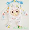 Supper Soft Cuddly Owl Baby Blanket Toy (SewDPopShop) Tags: baby toddler babyblanket babytoy securityblanket softbabytoy