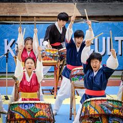 Korean drumming (michellerlee) Tags: canada vancouver bc performance burnaby koreandrumming swanguardstadium koreanculturalfestival