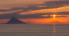 A good morning (Per-Karlsson) Tags: morning sea sun seascape yellow norway island coast norge helgeland nordland lovund norwegiansea norwegiancoast