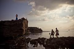 Dusk & Silhouettes, Gozo_0165 (wordly images) Tags: travel dusk silhouettes mediterraneansea gozo azurewindow