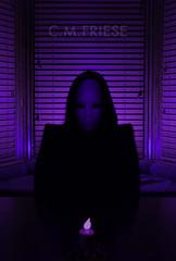 (CMFRIESE) Tags: blue halloween metal dark experimental fear goth violet rave dieantwoord cmfriese