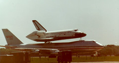 Space Shuttle Columbia (rfulton) Tags: aircraft columbia nasa eighties spaceshuttle 747 barksdaleafb