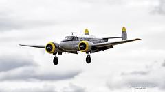N6495D  1960 Beech C-45H Expeditor C/N AF-449 (Hawg Wild Photography) Tags: arlington cn fly nikon beech 1960 in 2015 expeditor c45h n6495d terrygreen af449 nikon600mmvr nikond4s arlingtonwashingtonkawo