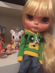 She is such a cute doll.