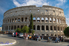 Colosseo (TARIQ HAMEED SULEMANI) Tags: travel summer italy rome tourism colors canon photography europe culture colosseum sensational tariq colosseo supershot concordians sulemani tariqhameedsulemani