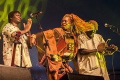 Amsterdam, The Netherlands - July, 5 2015: concert of Haitian band The Chouk Bwa Libete;during Amsterdam Roots Open Air, a cultural festival held in Park Frankendael on 05/07/2015 (CloudMineAmsterdam) Tags: africa party people musician public netherlands amsterdam festival dance europe audience outdoor african performance performing roots event entertainment together artists singer leisure concerts multicultural worldmusic voodoo cultural traditionalclothing playingmusic openminded beautifulblackwoman traditionnalclothes traditionalinstrument choukbwalibete