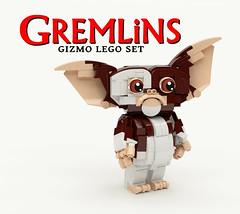 Gremlins Gizmo LEGO Set - 1 (buggyirk) Tags: set movie lego retro 80s gizmo ideas gremlins moc afol buggyirk