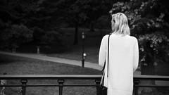 (lukesaagi) Tags: park new york city nyc newyorkcity trees sunset summer vacation bw usa white lake newyork black green nature america forest sunrise sweater downtown walk centralpark unitedstatesofamerica central panasonic gh4
