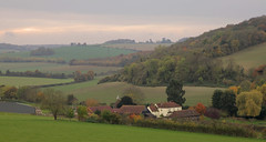Darent Valley Kent (Adam Swaine) Tags: uk autumn england english nature canon kent seasons britain hills valley 2015 swaine darent