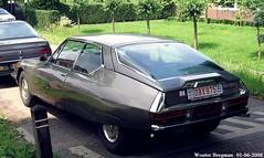 Citron SM (XBXG) Tags: auto old france holland classic netherlands car vintage french automobile nederland sm citron voiture des frankrijk fte 2008 paysbas coupe maserati coup v6 ancienne limousines franaise bruchem citronsm obx875