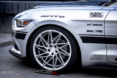 ACE Driven x Mustang GT (ACEALLOYWHEEL/AMF FORGED) Tags: ford nissan ace wheels cast mustang custom forged concave stance driven directional fitment acealloy amfforged acedriven