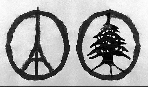 Repulsa por los atentados de Francia