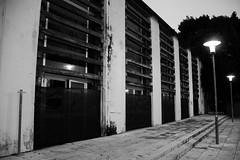 Grade wood (FPH Photography) Tags: italy streetart art palermo luce cancello lampione zisa