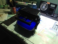 Fitting LEDs in cupholders (Ajay Parmar Design) Tags: blue ice honda mod nation daily led just civic cupholder jap jdm slammed stance cupholders ek9 ej9