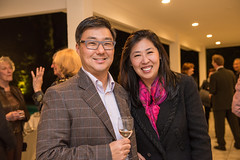 LACO board member Eugene Ohr and Catherine Ohr