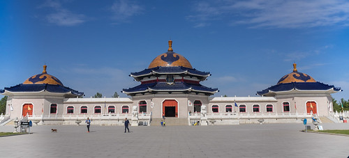 The Mausoleum of Genghis Khan