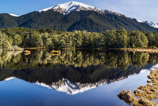 Mountain Reflection near Mavora