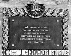 Château Ramezay (Will S.) Tags: mypics montreal quebec canada chateauramezay château montréal québec plaque plaques