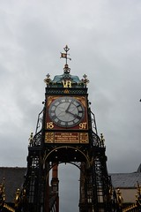 Photo of Eastgate Clock Chester  UK (2)