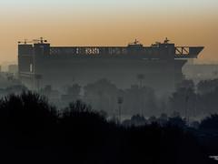 San Siro Stadio - Milano (acronimo) Tags: milano tele sansiro nebbia stadio foschia montestella