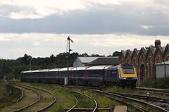 43010, Worcester Shrub Hill (JH Stokes) Tags: t photography transport tracks trains publictransport railways trainspotting locomotives class43 ferroequinology powercar