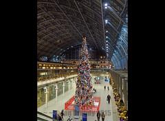 St Pancras 7333 (stagedoor) Tags: uk england copyright building london station architecture railway olympus stpancras listed grade1 terminus georgegilbertscott em1 williamhenrybarlow fosterpartners greaterlondon