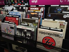 HMV Leicester (Vinyl). (boloveselvis) Tags: uk blue woman london shop john la store doors purple dire tiger vinyl deep file clash lips seven foo cooper record duranduran fighters ac calling mode straits foofighters flaminglips ff depeche flaming clarke duran ragged londoncalling deacon lps theclash lawoman johncooperclarke cduncan vinylporn jefflynneselo depechemoderecord