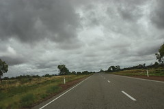 140 km marker (iainrmacaulay) Tags: highway australia barkly