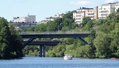 Water and bridges (bokage) Tags: sweden stockholm mälaren water lake boat bridge bokage