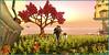 Course aux papillons (Tim Deschanel) Tags: tim deschanel sl second life weeville oyster bay couleur color licorne exploration landscape paysage ile isle sera bellic lick sim design grace grace81 capalini