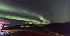Aurora over Seljavellir (Nick L) Tags: aurora auroraborealis northernlights guesthouse farm landscape iceland hofn seljavellir stars nightsky