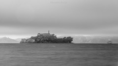 Alcatraz Island on a very cloudy sunday (amrocha) Tags: 2016 alcatraz california sfo sanfrancisco usa trip travel travelphotography island ilha îlle isla voyage viaje viagem tourist attraction touristattraction pentaxflickraward pentaxart pentax pentaxk5ii smcpentaxda18135mmwr wr tiffen uv