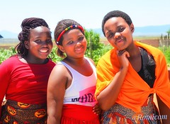 Colorful girls (romicom2) Tags: culture colour transkei southafrica blackgirls wedding