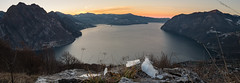 Landscape on ice (manuel gamba pictures) Tags: solto collina iseo lake lago montagne mountain sunrise alba italy ice frozen x100t fuji fujifilm