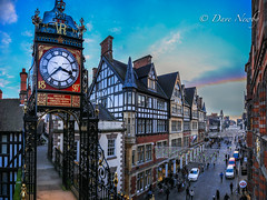 Christmas, What the clock sees, (davenewby123) Tags: eastgateclock chester uk england irix15mmf24 davenewby canoneos6d davidnweby