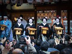 setsubun (torekimi) Tags: setsubun maiko kyoto yasaka shrine festival japan