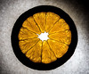 Citrus Slice (tlawrence36) Tags: orange slice silouhette citrus veins crosssection