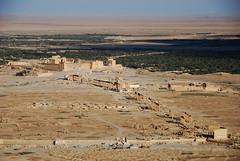 Roman ruins in Palmyra
