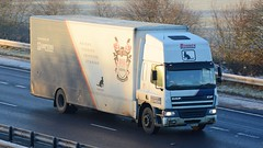 DB53 CAT (panmanstan) Tags: daf cf wagon truck lorry commercial removals vehicle m18 motorway langham yorkshire