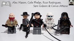 Alec Mason, Cole Phelps, Rico Rodriguez, Sam Gideon & Corvo Attano (Random_Panda) Tags: lego figs fig figures figure minifigs minifig minifigures minifigure purist purists character characters video games game red faction guerrilla dishonored dishonoured vanquish la noire l a just cause 2 rico rodriguez corvo attano alec mason cole phelps sam gideon