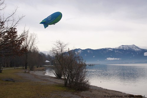 Airship at Tegernsee