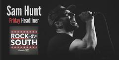 SAM HUNT To Headline Friday Rock The South 2017 (cullmantoday) Tags: sam hunt headlines headliner rock south 2017 cullman county alabama