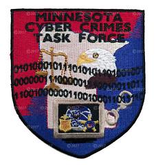 Minnestoa Cyber Crimes Task Force Patch FBI/USSS (GMAN) (Nate_892) Tags: patch police minnesota cyber crimes task force cctf usss secret service fbi federal bureau investigation gman cac against children