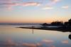 Sunset reflection on the winter sea (Emilio Pellegrinon) Tags: grado friuli italy winter inverno mare sole tramonto riflesso colori laguna sea