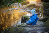 Rivers of Gold (Windermere Images) Tags: wales pontneathvaughn river reflections child boy january new year walk trees gold winter hats love