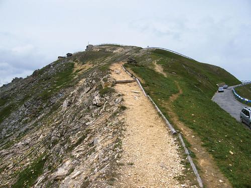 Edelweissspitze, fel a csúcsra