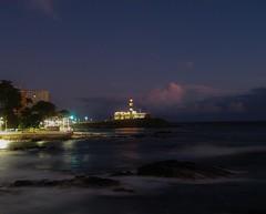 Farol da Barra no Forte de Santo Antonio, Salvador, Bahia, Brasil (ladgon) Tags: farol faroldabarra lighthouse mar seaside ocean oceanoatlantico salvador bahia brasil dusk