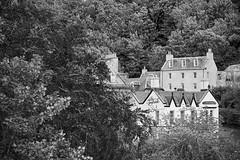 The Taybank (aylmerqc) Tags: scotland dunkeld bw blackandwhite perthshire highlands taybank tay inn hotel