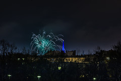 _MG_5222 WOSP 2017. (Sakuto) Tags: fireworks light night city poznan wosp landscape tower blue colors outdoor colorful poland sky
