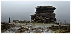 Mother Cap. (A tramp in the hills) Tags: mothercap gritstone overowlertor derbyshire